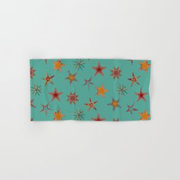 Fish tales: Starfish pattern 1c Hand & Bath Towel
