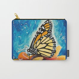 Butterfly - Discreet clarity - by LiliFlore Carry-All Pouch