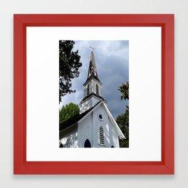Historic Sellwood Church Framed Art Print