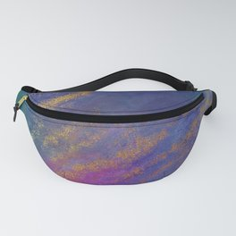 Abstract Grunge Gold 1 Fanny Pack