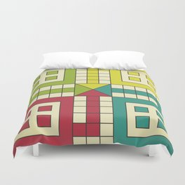 Ludo Game Duvet Cover