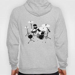 Drumkit Silhouette (backview) Hoody