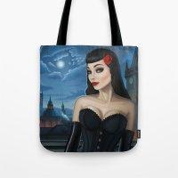 selena Tote Bags featuring Selena by Remus Brailoiu