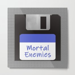 Mortal Enemies Metal Print