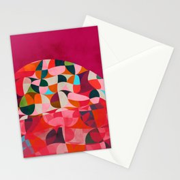 shapes abstract Stationery Cards