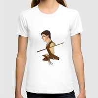 potter T-shirts featuring James Potter by Imaginative Ink