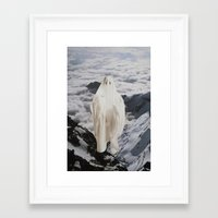 ghost Framed Art Prints featuring Ghost by John Turck