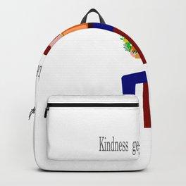 Kindness generates kindness Backpack