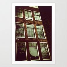 anne frank house Art Print