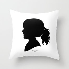 Annie Carlson Silhouette Throw Pillow