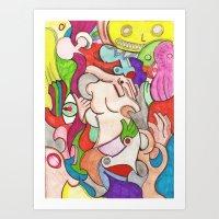 selva ( jungle) Art Print