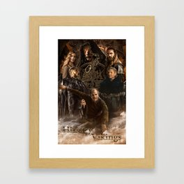 Overlords of Valhalla Framed Art Print