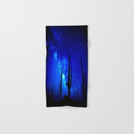 The Milky Way Blue Hand & Bath Towel
