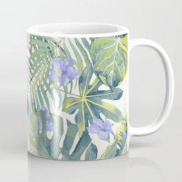 Palm Leaves Pattern 8 Coffee Mug