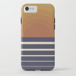 Retro Sunset iPhone Case