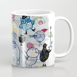 Swedish XMAS birds Coffee Mug