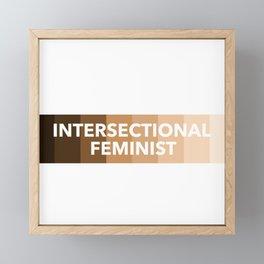 Intersectional Feminist Framed Mini Art Print