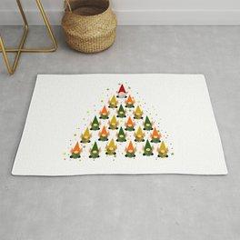 Merry Gnoming Christmas Rug
