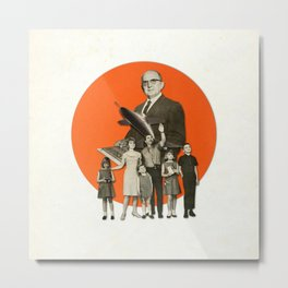 Nuclear Family Metal Print