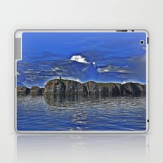 A Mysterious Island Awaits Those That Dare Laptop & iPad Skin