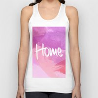 water colour Tank Tops featuring Water Colour Home by Ladsandstuff