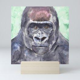 Lowland Gorilla Mini Art Print
