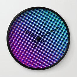 80's grade purple Wall Clock