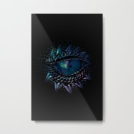 Dragon eye Metal Print