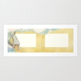 Al Pasar la Barca Art Print