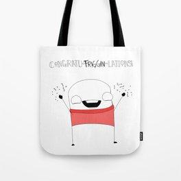 Congratu-friggin-lations Tote Bag