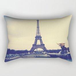 I Love Paris Rectangular Pillow