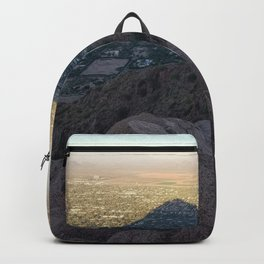 In the Shadow of a Mountain Backpack