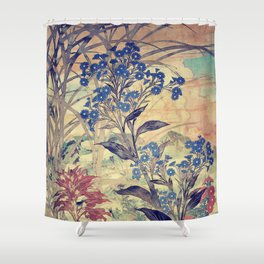Slow Burning Shower Curtain