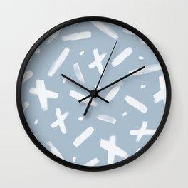 brushstrokes III Wall Clock