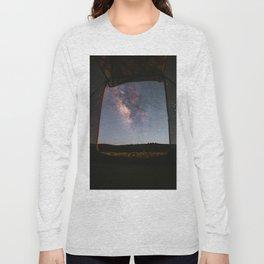 Milky Way Camping Long Sleeve T-shirt