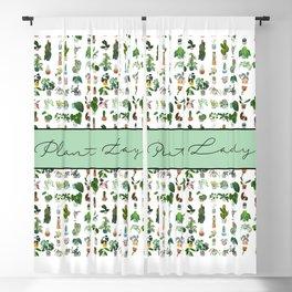 Plant Lady Confetti  Blackout Curtain