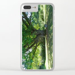 Garden Bench Vashon Clear iPhone Case