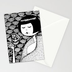No petal falls Stationery Cards