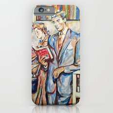 Vintage boy iPhone 6s Slim Case