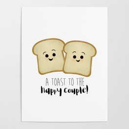 A Toast To The Happy Couple! Poster