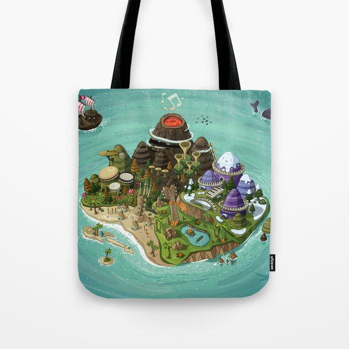 Rock Island Tote Bag