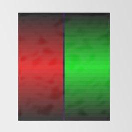 Christmas colors Throw Blanket