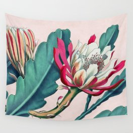 Flowering cactus IV Wall Tapestry