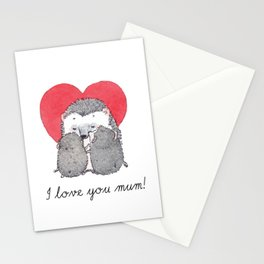 Love you mum! Stationery Cards