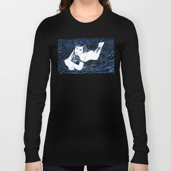 Water Nymph V Long Sleeve T-shirt