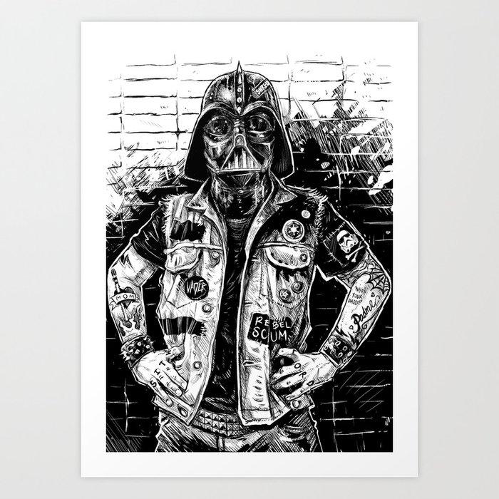 Problem Child (Star Wars - Darth Vader) Art Print