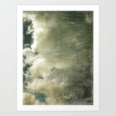 Partly Cloudy Art Print
