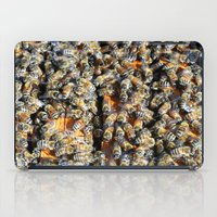 minions iPad Cases featuring Hive of Activity by Shawn Kelvin