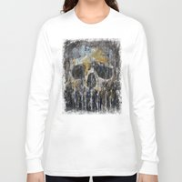 cthulhu Long Sleeve T-shirts featuring Cthulhu by Michael Creese