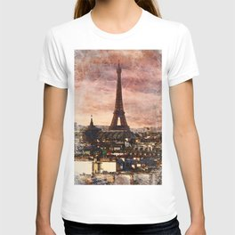 Eiffal Tower, Paris, France T-shirt